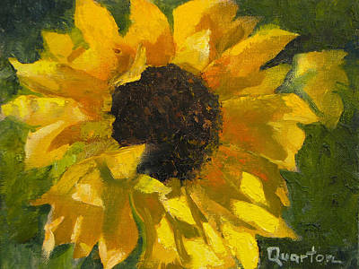 Painting - Sunflower Surprise by Lori Quarton