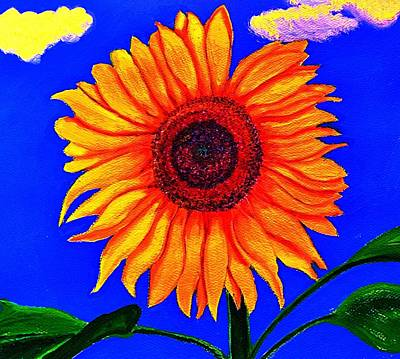 Painting - Sunflower by Victoria Rhodehouse