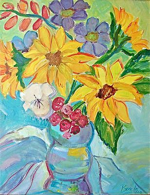 Painting - Sunflowers by Brenda Ruark
