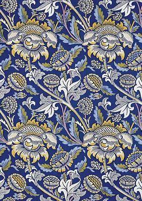 Sunflowers Tapestry - Textile - Sunflowers Design by William Morris