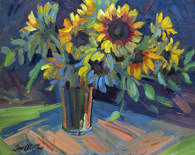 Painting - Sunflowers by Diane McClary