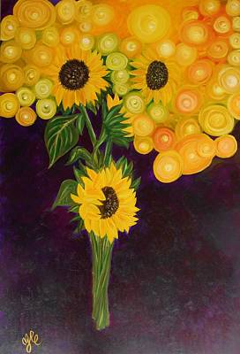 Sunflower's Dream Art Print