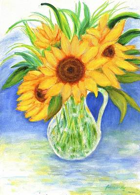 Painting - Sunflowers by Jeanne Kay Juhos
