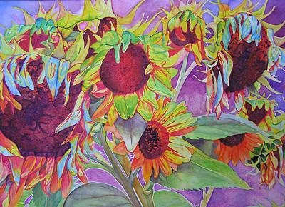 Sunflowers Art Print by Joshua Morton