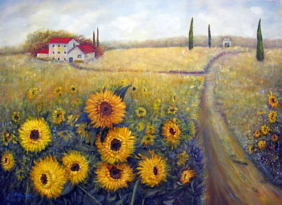 Painting - Sunflowers by Loretta Luglio