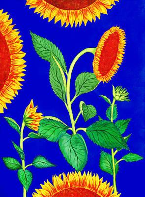 Royalty-Free and Rights-Managed Images - Sunflowers by Irina Sztukowski