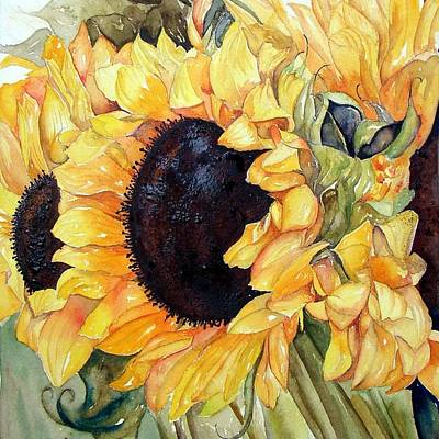 Painting - Sunflowers by Patricia Ragone