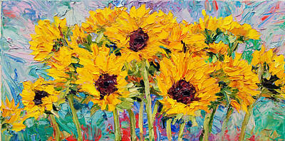 Painting - Sunflowers by Steven Boone