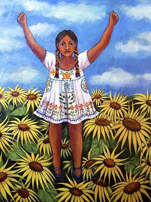 Painting - Sunflowers by Susan Santiago