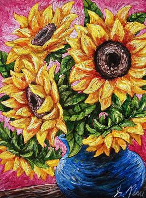 Painting - Sunflowery Day by Sebastian Pierre