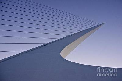 Sundial Bridge Art Print