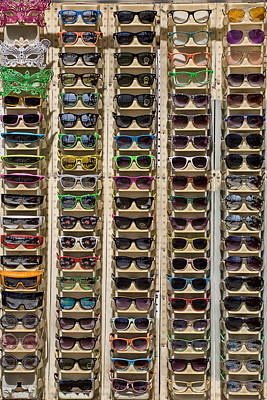 Sunglasses Art Print by Peter Tellone