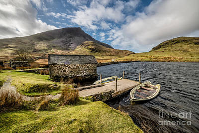Lakes Digital Art - Sunken Boats by Adrian Evans