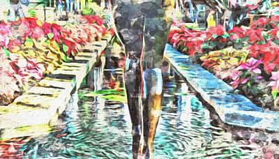 Painting - Sunken Garden by Jared Johnson
