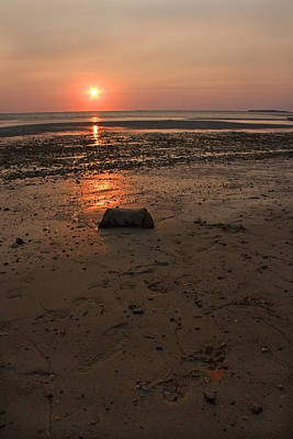 Photograph - Sunken Meadow Beach Sunset by Michael Friedman