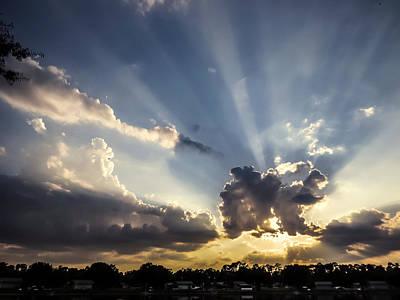 Florida Sunset Photograph - Sunlight 2 by Zina Stromberg