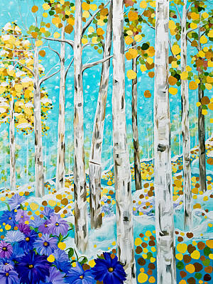 Sunlight And Snowflakes Original by Linda Rauch