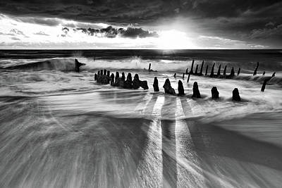 Shipwreck Photograph - Sunlight by Mel Brackstone