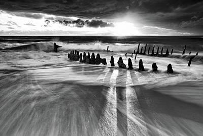 Wrecked Photograph - Sunlight by Mel Brackstone