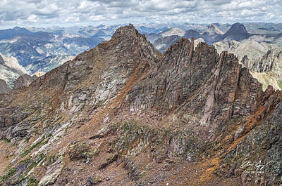 Photograph - Sunlight Peak From Windom by Aaron Spong