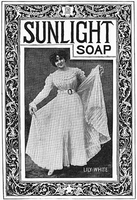 Hygiene Painting - Sunlight Soap, 1898 by Granger