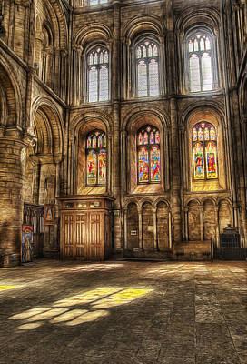 Photograph - Sunlight Through The Windows by Fiona Messenger