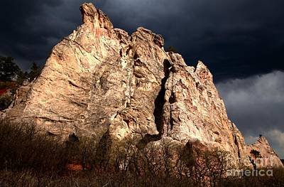Photograph - Sunlight Under Storm Clouds by Adam Jewell