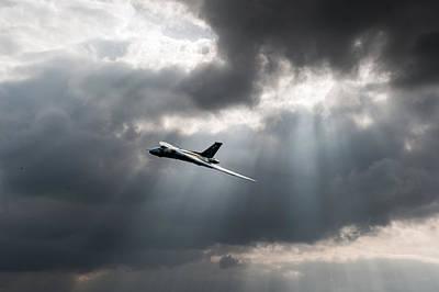 Photograph - Sunlit Vulcan by Gary Eason