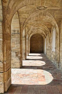 Photograph - Sunllit Arches W0914c by Wes and Dotty Weber