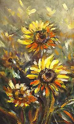 Painting - Sunny 2 by Gina De Gorna