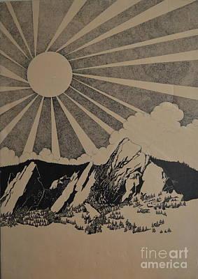 Sunny 300 Days A Year Art Print