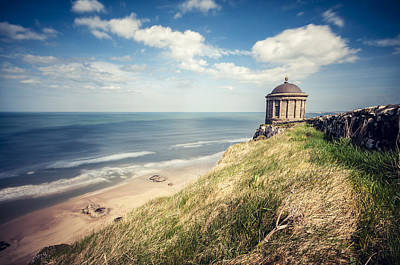 Sunny Afternoon Over The Mussenden Temple Art Print