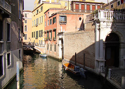 Photograph - Venice Sunny Afternoon by Walter Fahmy