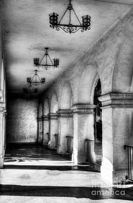 Photograph - Sunny California Arches 2 Bw by Mel Steinhauer