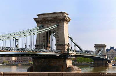 Photograph - Sunny Chain Bridge by Brenda Kean