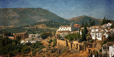 Photograph - Sunny Day In Ronda. Andalusia. Spain by Jenny Rainbow