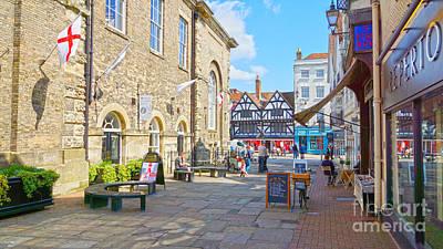 Sunny Day In Salisbury Art Print