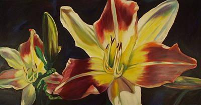 Lilium Painting - Sunny Day by Sheila Diemert