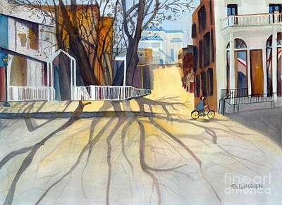 Sunny December Afternoon Art Print by Sandy Linden