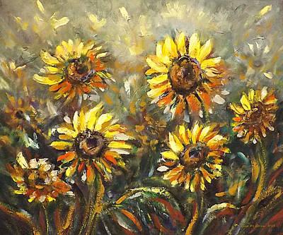 Painting - Sunny by Gina De Gorna