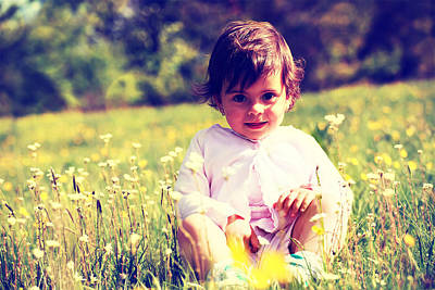 Photograph - Sunny Girl  by Svetoslav Sokolov