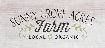 Painting - Sunny Grove Farm by Tammy Apple