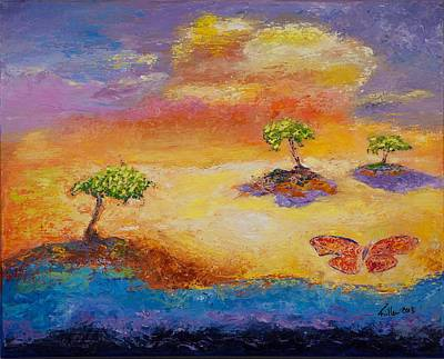 Sunny Islands Art Print by William Killen