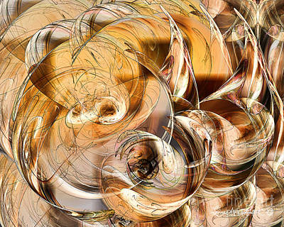 Digital Art - Sunny Luminance  by Leona Arsenault
