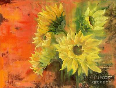 Painting - Sunny by Marlene Book