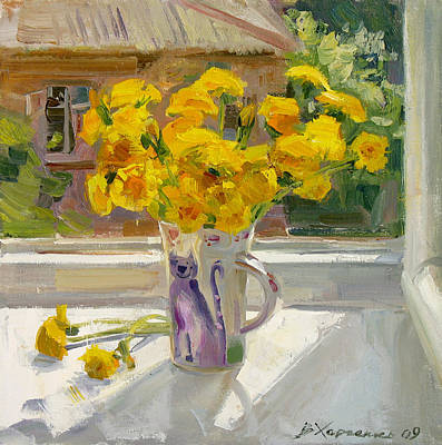 Sunny May Art Print by Victoria Kharchenko