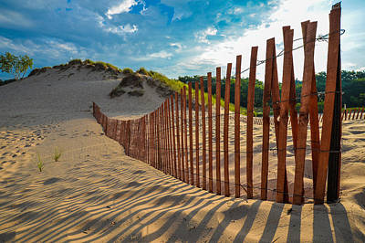 Photograph - Sunny Morning On The Dunes by Owen Weber