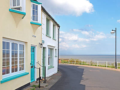 Sunny Outlook - Southwold Seafront Art Print by Gill Billington