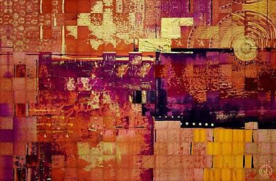 Quilts Digital Art - Sunny Quilt by Gun Legler
