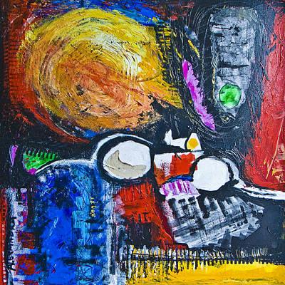 Painting - Sunny Side Up by Alexandra Jordankova
